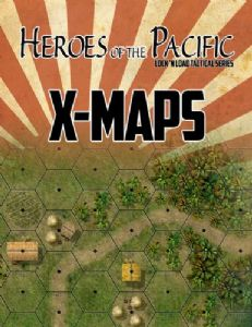 Lock 'n Load Tactical : Heroes of the Pacific – X-Maps